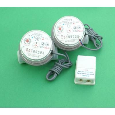 1-wire счетчик воды, умный счетчик, передача показаний
